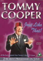 Tommy Cooper: Just Like That The Magic Touch Tribute to a Comic DVD 2002 $11.07