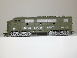 Model Power Ho Scale D.o.d.113 United States Army F-7 Powered