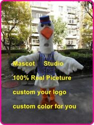 Stork Mascot Costume Cosplay Party Game Dress Outfit Advertising Halloween New