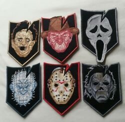 Its Tactical Discont. Slasher Horror Movie Morale Patches Limited Edition