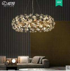 Luxury Personalized Living Room Crystal Chandelier Dimming Led Decoration Light