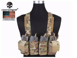 Emerson Military EASY Chest Rig Tactical Combat Airsoft Vest E7450 MultiCam