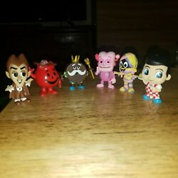 Funko Mystery Minis Ad Icons Lot Of 6 Kool Aid Man Yummy Mummy King Ding Dong