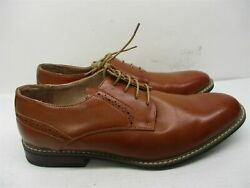 BRUNO MARC Shoes Men#x27;s Size 10.5 Dressy PRINCE Brown Leather