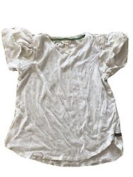 Womens Matilda Jane Lets Go Together Stay Awhile Tee Size M Medium Euc