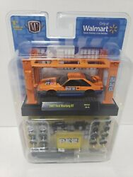 M2 Machines 1987 Ford Mustang Gt Orange And Blue Pez Model Kit Fox Body Brand New