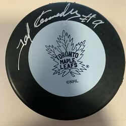 Ted Teeder Kennedy Auto Toronto Maple Leafs Signed Autographed Puck Coa