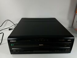 Pioneer Cld-m301 Ld Laserdisc Cdv And 5-disc Cd Player Multi-play Tested
