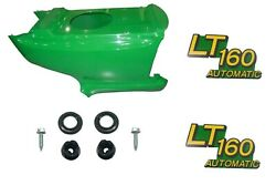 Newlower Hood And Set Of 2 Decals Replaces Am131759 Am131665 Fits John Deere Lt160