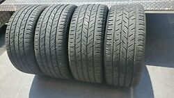 Four Used Continental Contiprocontact Radial Tire - 235/40r18 95h 2014 Dot