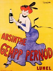 Art-print-cappiello-vintage-absinthe-gempp-pernod-1903-on-paper-canvas-or-frame