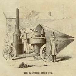 Art-print-anonymous-museo-baltimore-steam-gun-on-paper-canvas-or-framed