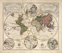 Art-print-lowitz-vintage-mappa-universalis-on-paper-canvas-or-framed