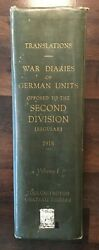 1930 War Diaries Of German Units Opposed To Us 2nd Infantry Div Translations Ww1