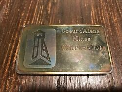 Super Rare 10 Ounce Silver Bar Greens Creek Mine Juneau Alaska Andldquoemployeeandrdquo Rare