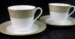 Royal Doulton Sonnet 2 Cup And Saucer Sets H5012 Great Condition