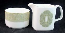 Royal Doulton Sonnet Open Sugar Bowl And Mini Creamer H5012 Great Condition