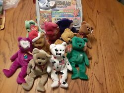 Collection Of Rare 1995-1997 Beanie Babys Retired