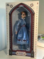 """Disney Store Limited Edition 17"""" Anna Doll Olafs Frozen Adventure Collectable Le"""