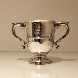 18th Century Antique Georg Ii Sterling Silver Cup And Cover London 1731 John Swift