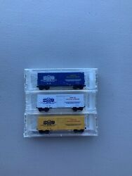 Micro Trains N Scale Special Run Ntrak Nmra Thanks From Pittsburg 3 Car Set