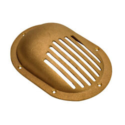 Groco Bronze Clam Shell Style Hull Strainer W/mount Ring F/up To 1-1/2 Thru ...