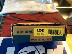 New Aiphone Le-d Surface Mount Audio Door Station For Le-series