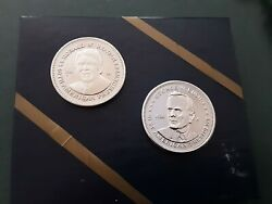 Ronald Reagan, And George W. Bush Double Eagle Presidential Commemorative Coins