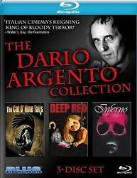 The Dario Argento Collection 3 Disc Blu ray Cat O#x27; Nine Tails Deep Red Inferno $32.99