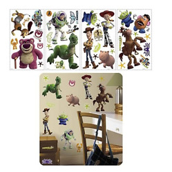 Toy Story 3 RoomMates Vinyl Wall Bedroom Removable Decal Stickers
