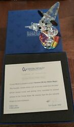 Crystal World Disney Fantasia Sorcerer Mickey Mouse Limited Edition Figurine New