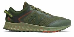 New Balance Men#x27;s Fresh Foam Arishi Trail Shoes Dark Blaze with Black