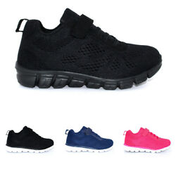 Unisex Kids Strap Mesh Flat Walking Lightweight Lace Up Sneakers US 13 7 $19.99