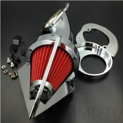 Motorcycle Parts Cone Spike Air Cleaner Kit For Yamaha Vstar V-star 650 All Year