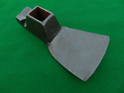 Antique Iron Wood Working Adze Axe Head 4 3/4 Inch Blade 4.5 Pounds