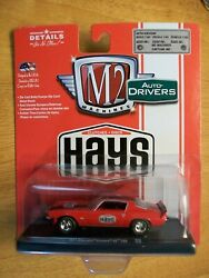 2017 M2 Machines Drivers 1 64 Hays Clutches Red 1971 Chevrolet Camaro SS 396 $9.99