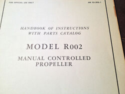 Beech Propeller R002 On L-4j Airplane Service And Parts Manual
