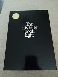 The Itty Bitty Book Light Vintage 1982 Zelco Battery Case Tested