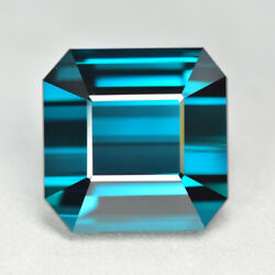 16.58ct Flawless Clean Quality Unheated Indicolite Blue Tourmaline Gemstone