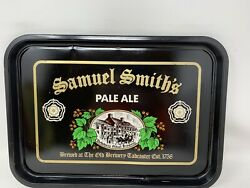 """Vintage Samuel Smith's Old Brewery Pale Ale Beer Serving Tray 16 1/2""""x11 3/4"""""""
