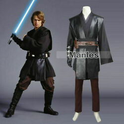 Star Wars 3 Revenge Of The Sith Jedi Knight Anakin Skywalker Cosplay Costume