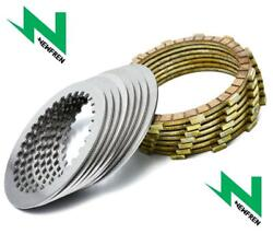 Newfren Friction And Steel Clutch Plate Kit To Fit Honda Cbr600rr 3-d 03-15