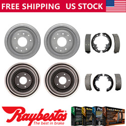 For 1965-1969 Chevrolet Corvair Front Rear Kit Brake Drums And Brake Shoes