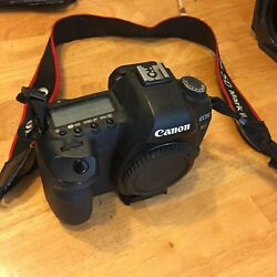 Canon Eos 5d Mark Ii 21.1 Mp Digital Slr Camera - Black Body Only With Ml