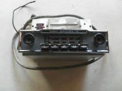 Restored Original Mercedes 1960's Becker Europa Tr Radio W/ Amp And Cable