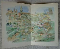 Vintage 1952 Raoul Dufy French Paperback Claude Roger-marx Free Shipping