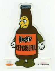 The Simpsons Duff Surly Die Cut Chase Trading Card 7d7 Le To 2500 By Tempo 1996