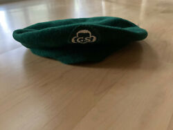 Vintage Girl Scout Beret And Brand New Cockade, 11 Badges, 3 Pins, 2 Other Patch