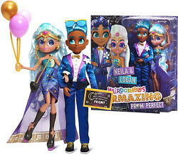 Hairdorables Hairmazing Prom Perfect Pair Fashion Dolls 2- Pack Exclusive