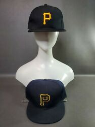 Pittsburgh Pirates Fitted Hat 7⅝ And 7¾ Caps Mlb Cap Line And Premium Fits